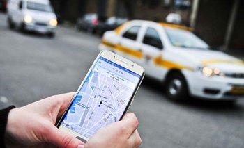 Por Uber, dueños de taxis acudirán a la Justicia. I. Guimaraens