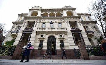 Palacio Piria, sede de la Suprema Corte de Justicia.