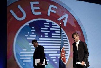 Ceferin, presidente de UEFA, fue el gran triunfador de la pulseada