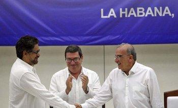 El presidente Juan Manuel Santos negoció el fin de la guerrilla<br>