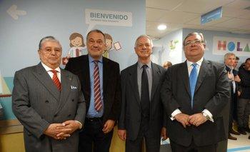 Gerardo García Rial, Roberto Varela Fariña, Jorge Basso y Julio Martínez