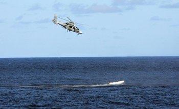 Rescate de los pescadores chinos<br>
