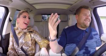 Lady Gaga participó de <i>Carpool Karaoke</i>
