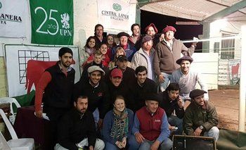 La familia Fillat Quagliotti con el equipo de Zambrano & Cía y Albano Ordeix<br>