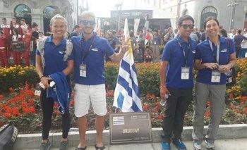 Los representantes uruguayos en el Mundial de Trail