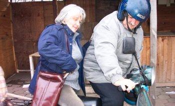 José Mujica y Lucía Topolansky en junio de 2004, con el gobierno a la vuelta de la esquina