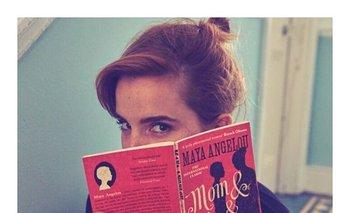 """Emma Watson se volvió un """"hada de los libros""""<br>"""