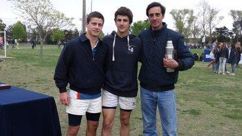 Octavio Texeira, Mauro Ferreiro y Juan Gremminger