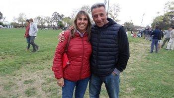Rosa Carello y Eduardo Trinidad
