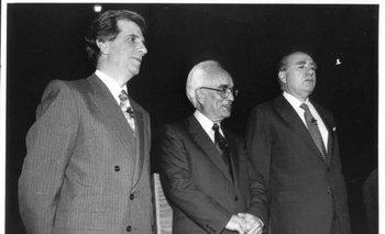Debate entre Tabaré Vázquez y Julio Sanguinetti, con Jorge Brovetto –entonces rector de la Universidad oficial– como moderador, difundido por televisión abierta el 8 de noviembre de 1994