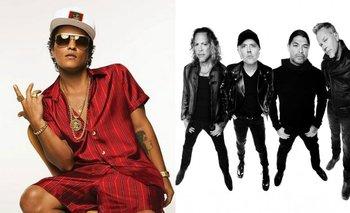 Brunos Mars y Metallica