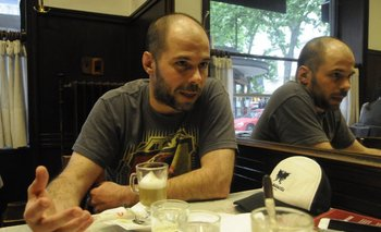 Diego Zas editó en 2013 su primer libro:<i> No me vengas con historias</i>