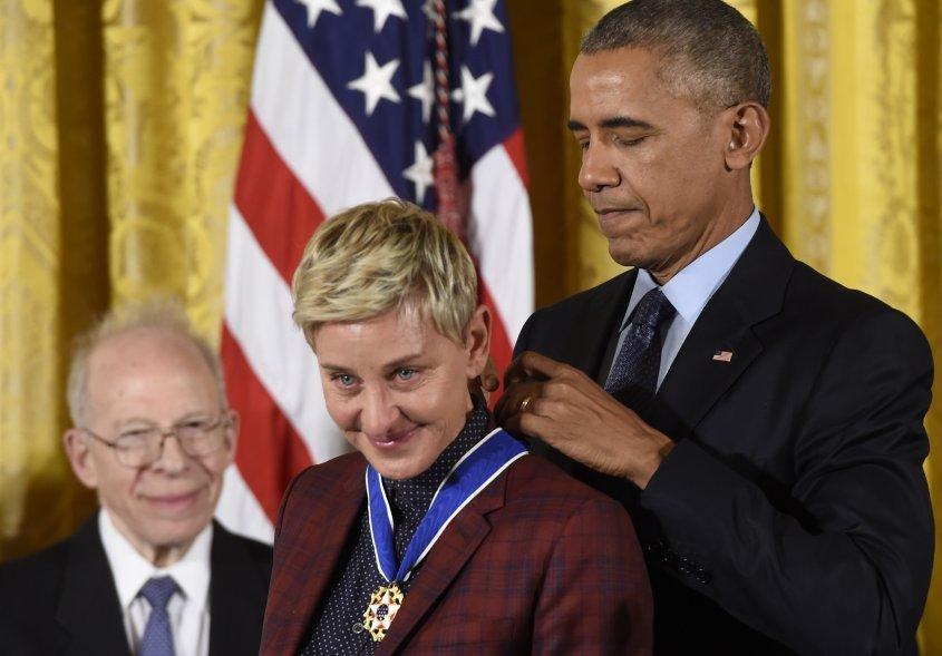 Ellen DeGeneres reveló que fue abusada por su padrastro