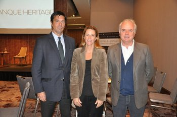 Héctor Viana, Mariel Pérez e Ignacio Arocena