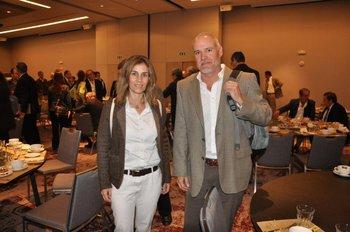 Pia Sanz y Paul Morgan