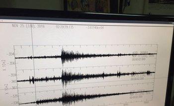 Monitoreo del sismo, con epicentro en Sauce.