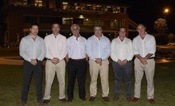 Ignacio Trigo, Facundo Schauricht, Carlos de Freitas, José Aicardi, Sebastián Blanco y Alberto Gallinal.<br>
