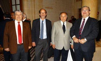 Gerardo García Rial, Ricardo Lluberas, Daniel Mallo y Julio Martínez