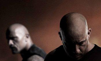 Dwyane Johnson y Vin Diesel protagonizan <i>Rápidos y furiosos 8</i><br>