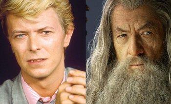 David Bowie e Ian Mckellen