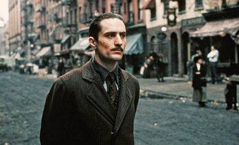 Robert De Niro en <i>El Padrino Parte II</i>, dirigida por Francis Ford Coppola