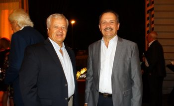 <b>Osvaldo Giraudo y Daniel Porrini (Director Ejecutivo Ducsa)</b>