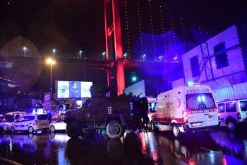 Operativo en Turquía luego del atentado en una discoteca. Archivo.