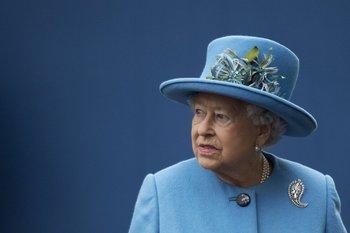 La reinaIsabelII