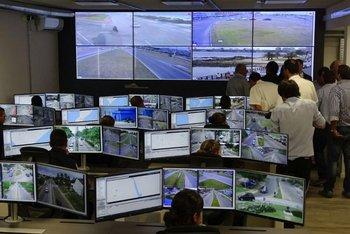 <b>En diciembre comenzaron a funcionar unas 300 cámaras de seguridad en Maldonado. </b>