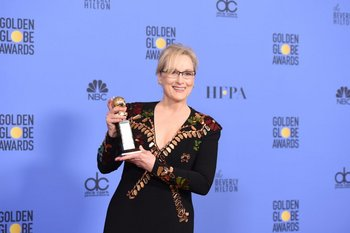 Meryl Streep recibió el premio a la trayectoria, Cecil B. DeMille
