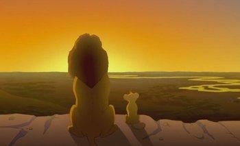 Escena de El rey león