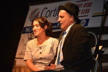 Pinocho Sosa en una de sus presentaciones en el escenario