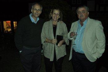 Carlos de Cores, Magela Damiani y Julio Preve