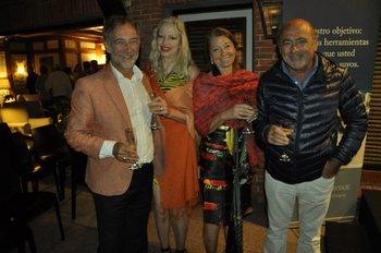 Enrique Janssen, Patricia Blok, Susana Massaro y Miguel Díaz Mejail
