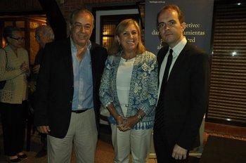 Ignacio Carrera, Graciela Reybaud y Gustavo Carvalho