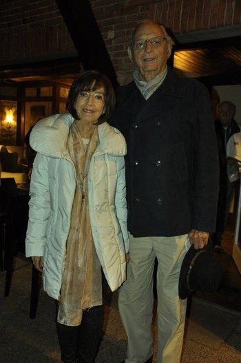 Silvia Astiazaran y Elías Bluth