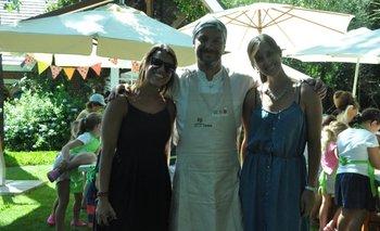 Amorina Baggi, Diego Ruete y Bethania Morisio