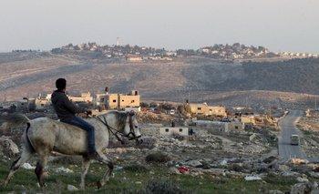 Sur de Hebrón, en Cisjordania