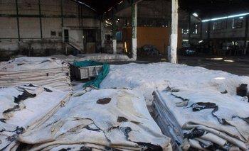 Industria del cuero. Foto Archivo.