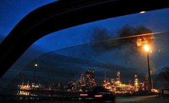 La refinería de Ancap, en La Teja