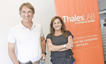 Nicolás Jodal y Sylvia Chebi, fundadores de ThalesLab