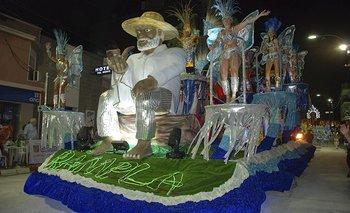 Barrio Rampla, una vez más, fue la mejor de las escuelas de samba en Artigas.<br>