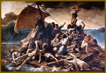 La balsa de Medusa de Géricault
