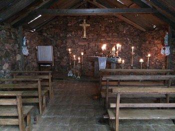En la iglesia de Santa Clara de Olimar contrajo matrimonio y fue bautizado Aparicio Saravia.