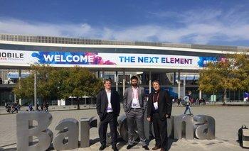 <b>Alan Sulimovich, Liber Fernandez y Amilcar Perea en el Movil World Congress</b>