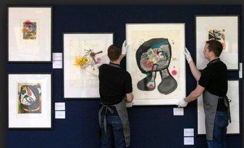 Finalmente las obras de Joan Miró podrían quedar en manos del gobierno portugués<br>