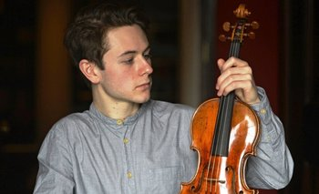El violín del maestro luthier Antoni Stradivari pertenece al año 1684<br>