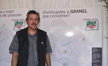 El gerente de ventas de Isusa, Sergio Suárez Cibils<br>