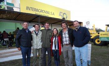 <p>Valentín Martínez, Javier Vejo, Julio Blanco, Madelón Stirling, Jorge Basso y Enrique Carrau.</p>