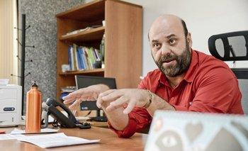Julio Bango es el secretario nacional de Cuidados.